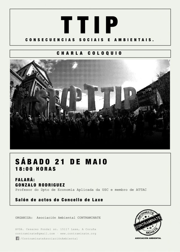 Charla Coloquio_TTIP_Contraminate_ cartel A4-01